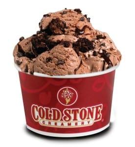 Cold Stone icecream sundae